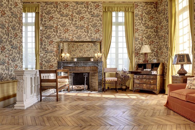 Salon Morgan du Musée franco-américain du Château de Blérancourt
