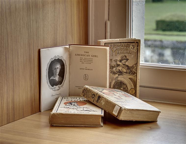 Bibliothèque au Musée franco-américain du Château de Blérancourt