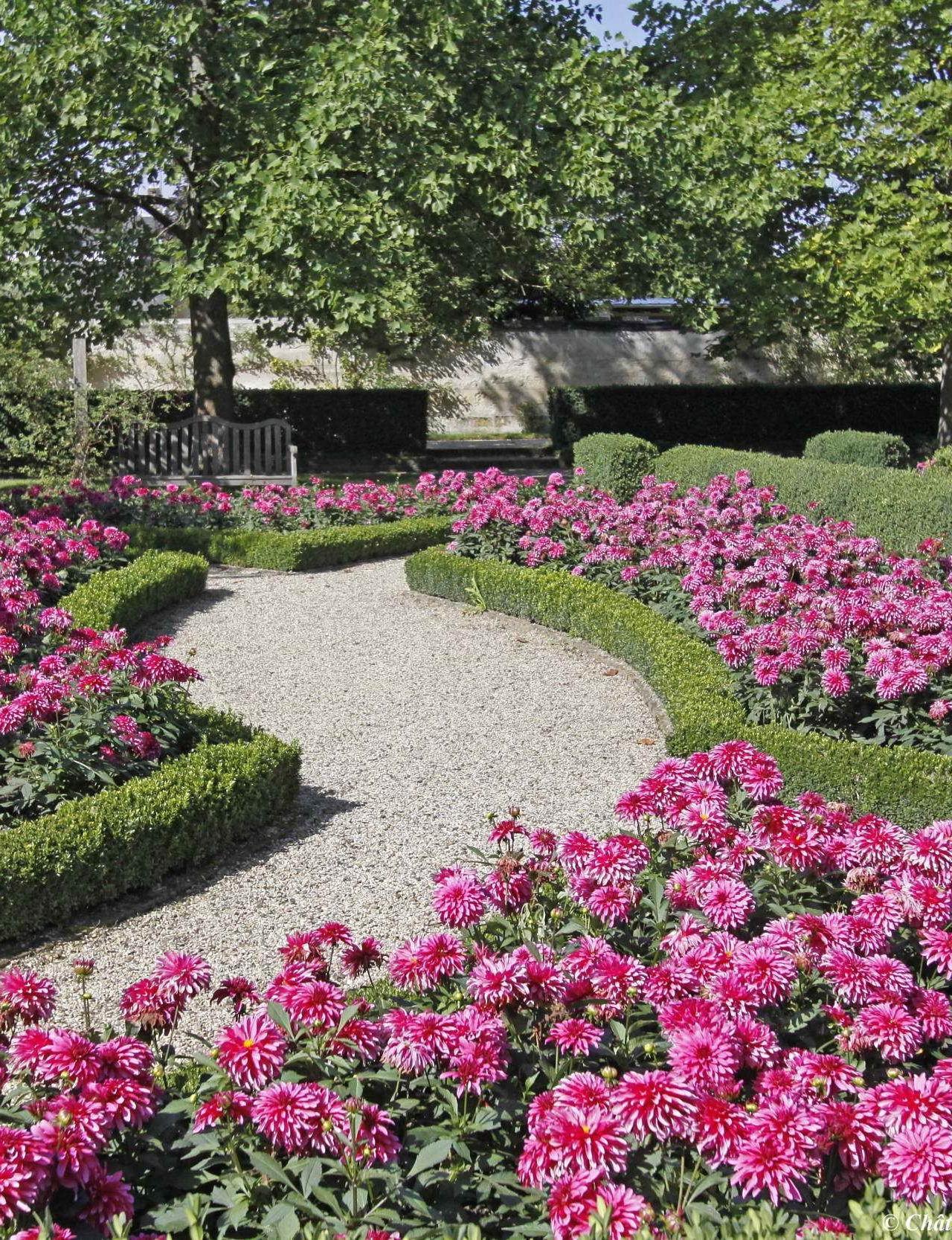 Jardin Cox Musée franco-américain du château de Blérancourt