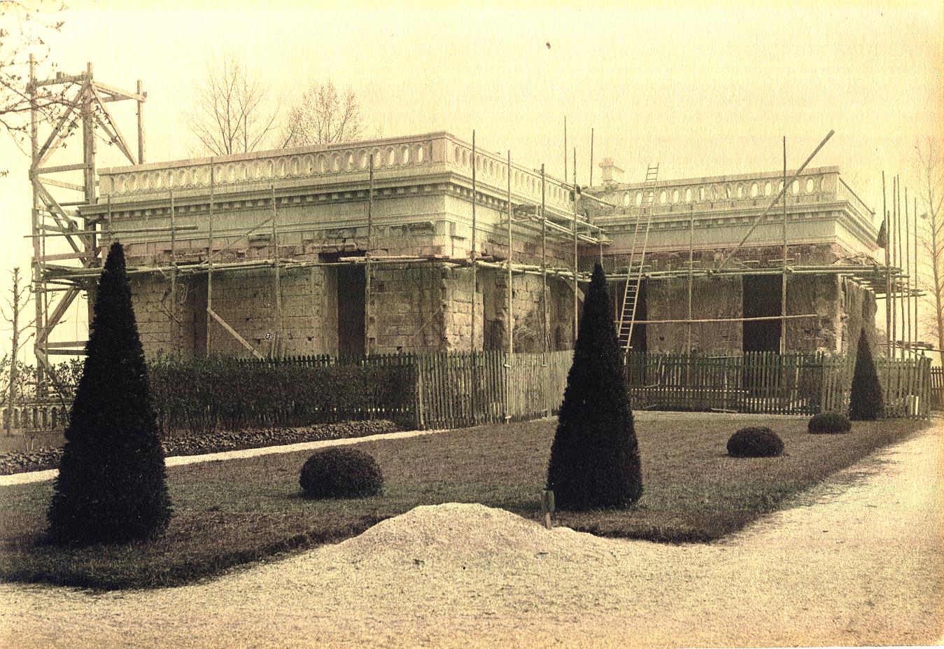 Pavillon historique restauré en 1930