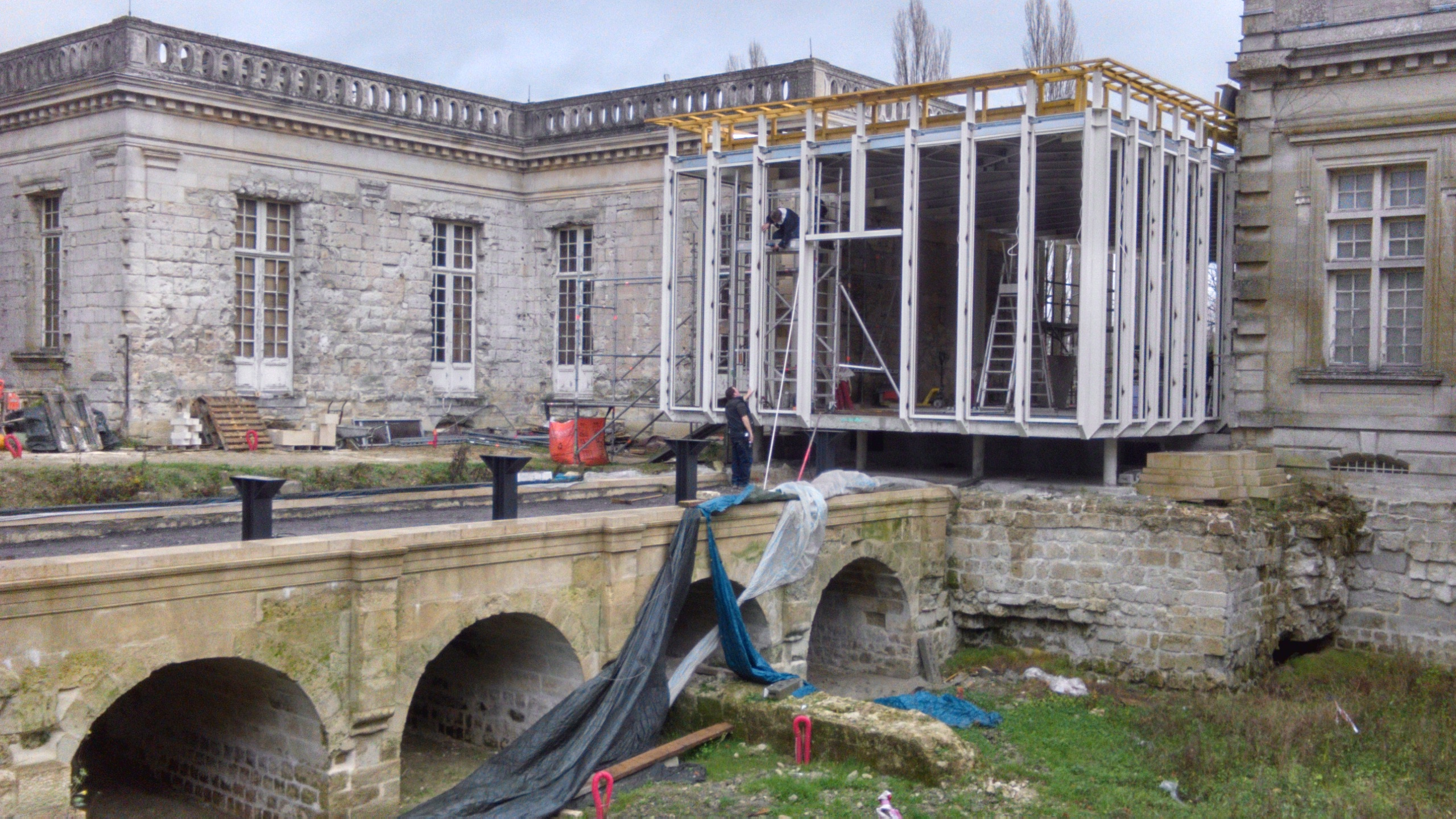 Chantier d'extension