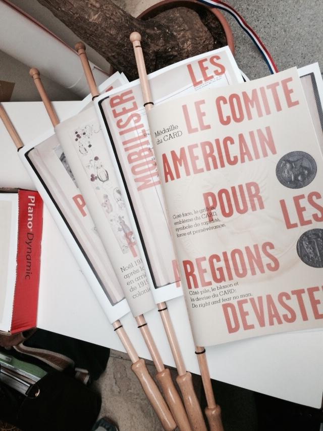 Livrets de l'exposition pédagogique Anne Morgan