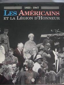 catalogue Les Américains et la Légion d'Honneur